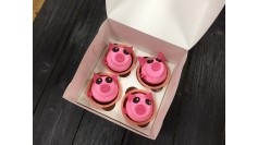 Капкейки Новогодние Свинки