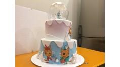 Торт Три кота