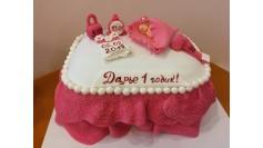 Торт Нежный на годик