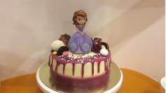 Торт с Принцессой Софией