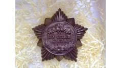 """Шоколадная медаль """"Лучший папа"""""""