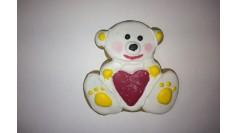Пряник Мишка с сердцем 2